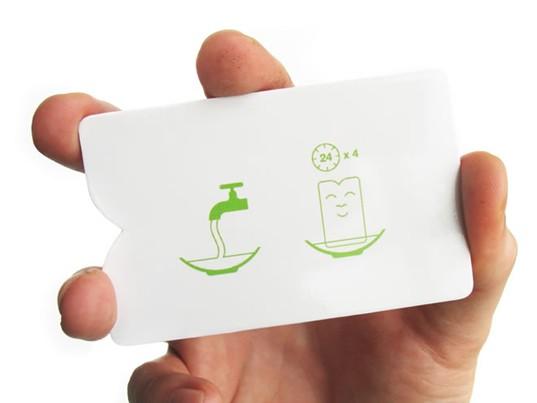 会发芽成长的迷你盆栽纸袋创意设计