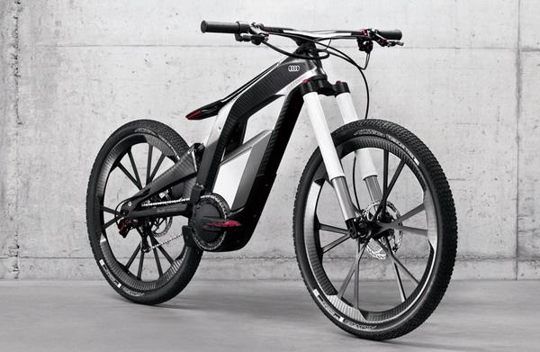 碳纤维的智能自行车
