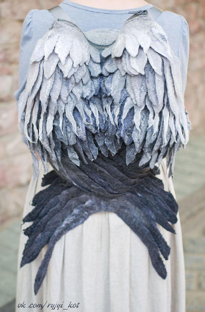 天使翅膀背包创意设计