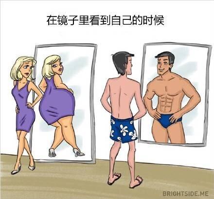 男女的行为及思维区别
