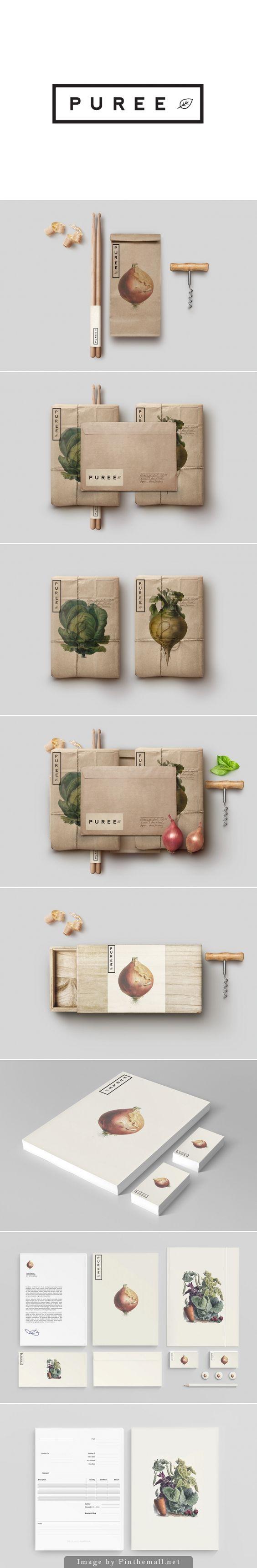 一组特别的全套产品包装设计