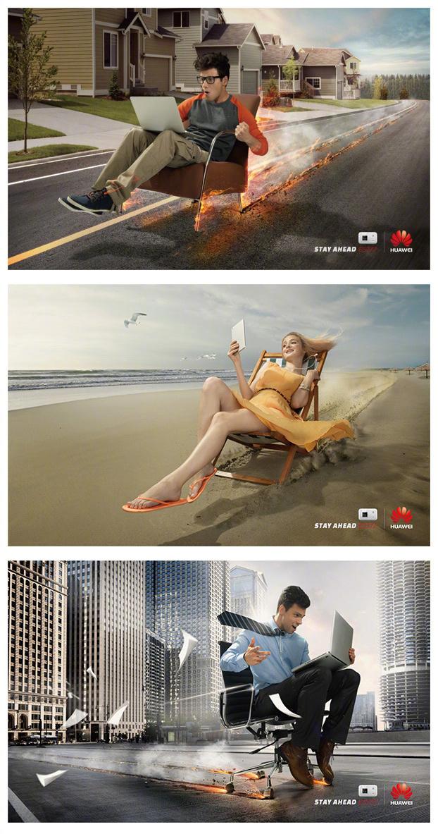 有创意的平面广告作品