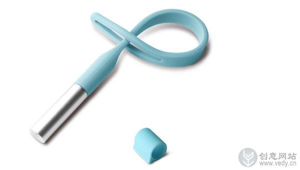 iPhone概念手机设计上的激光笔