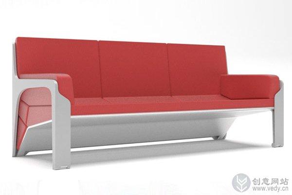 百变多功能的创意沙发设计