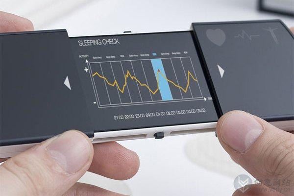 可以检测身体健康的概念手机