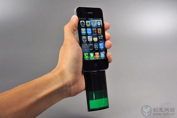 创意移动电源专为iPhone设计的备用电池