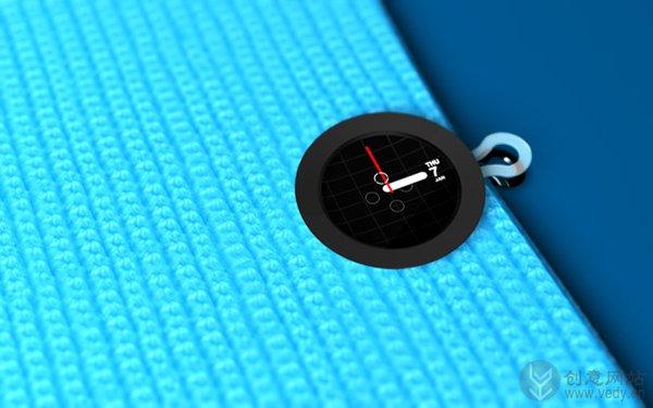 纽扣式太阳能指针电子手表