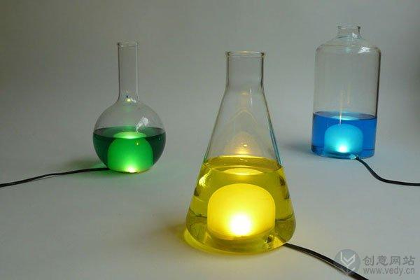 DIY手工制作的创意LED灯具设计