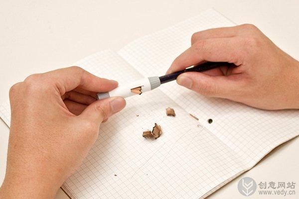 环保形的多功能创意铅笔刀