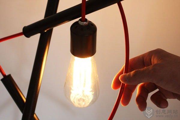 错综复杂的创意落地灯设计