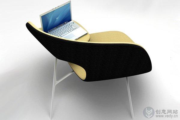 方便拥抱的创意椅子设计