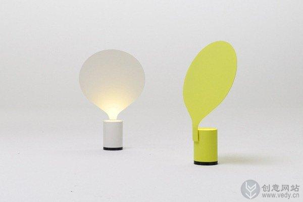 简洁气球造型的创意台灯