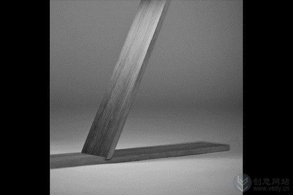 可组装的Z字形平衡光式的创意台灯