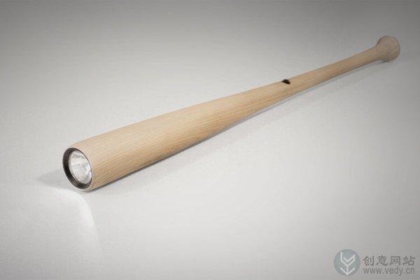 棒球棒样式的创意手电筒