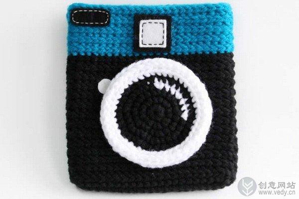 创意手工编织的毛线包包