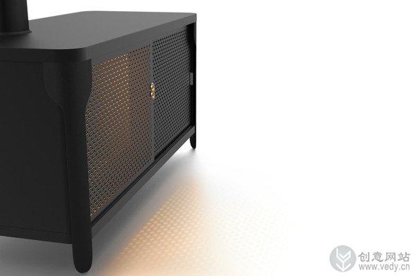 光色电可控的创意烤炉