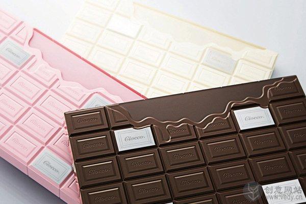 巧克力造型的电子体重秤
