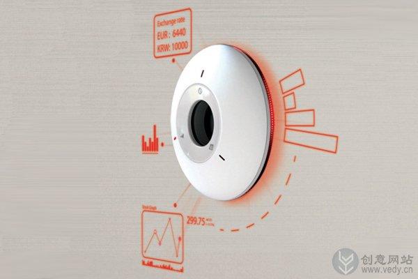 多功能概念的创意挂钟设计