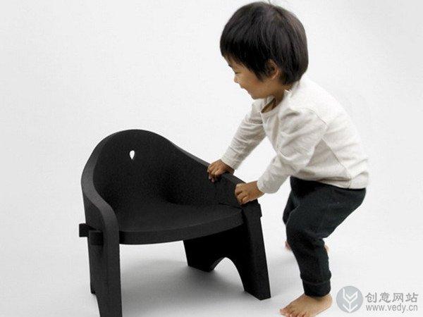 儿童趣味创意座椅设计