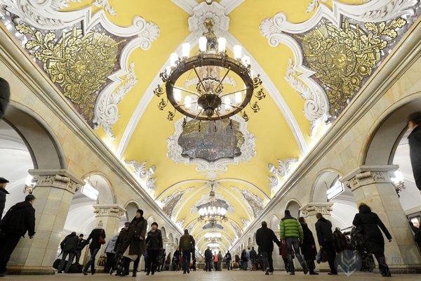 共青团地铁站,莫斯科